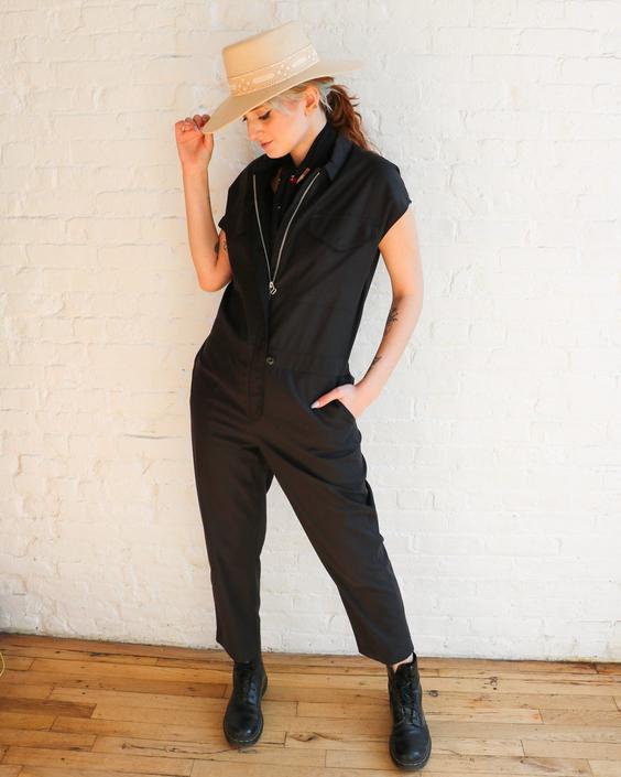Rag & Bone Casual Utility Jumpsuit, Size M