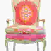 Paradise Punch Upholstered Armchair by WildChairy