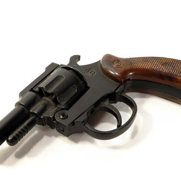 VTG  22 cal PRECISE STARTER PISTOL Snub Nose REVOLVER - BLANKS ONLY - Track  Gun