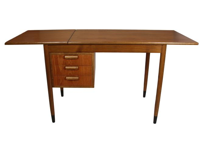 Fold Down Teak Desk by RetroPassion21