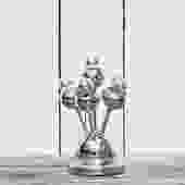 Chrome Little Bubbles Desk Lamp