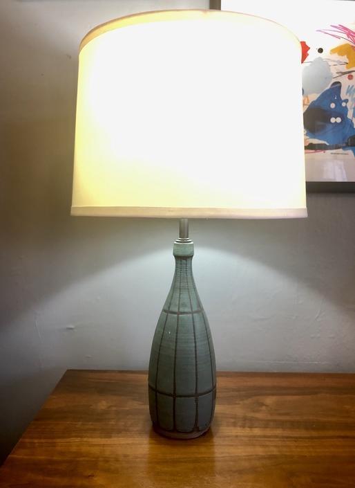 Vintage Pottery Lamp by Bruce Eppelsheimer 1960's