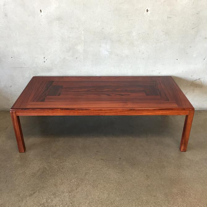 Mid Century Danish Vejle Stole Rosewood Coffee Table