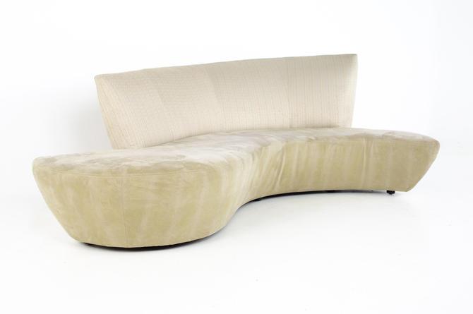 Vladimir Kagan Mid Century Bilbao Sofa - mcm by ModernHill
