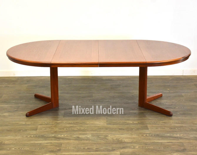 Danish Modern Teak Dining Table by mixedmodern1