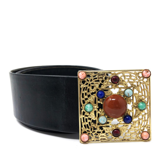 Christian Dior Gemstone Belt