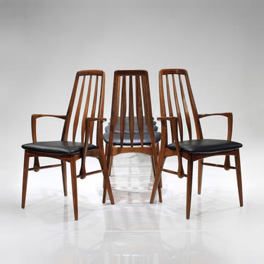 Mid-Century Danish Rosewood Dining Chairs 'Eva' by Niels Koefoed - Set of 6 by ReVisionFurniture