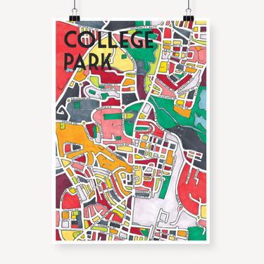 College Park Print