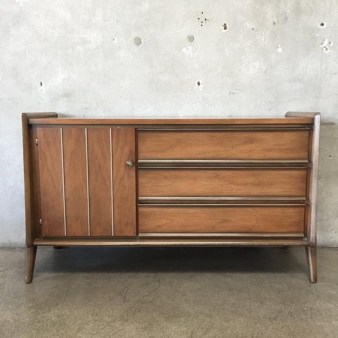 Mid Century United Low Boy Dresser-HOLD FOR KC