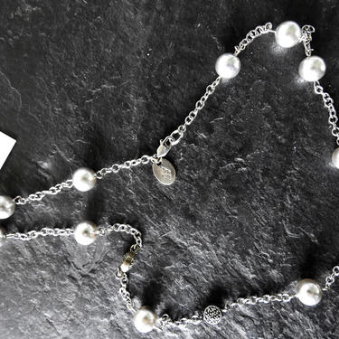 Judith Jack NWT Sterling Grey Fresh Water Pearls Necklace by LegendaryBeast