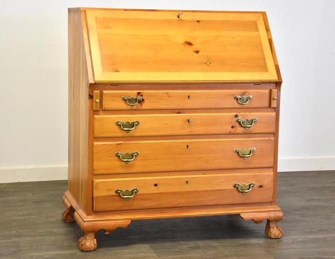Solid Pine Secretary Desk by Lexington by mixedmodern1