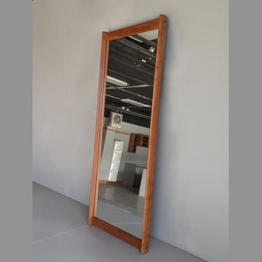 4ft Aksel Kjersgaard Rectangular Mirror 1960's Danish Modern by MadsenModern
