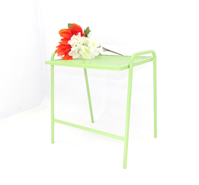 Sensational Small Bench End Table Sage Green Wire Side Table Entryway Ocoug Best Dining Table And Chair Ideas Images Ocougorg