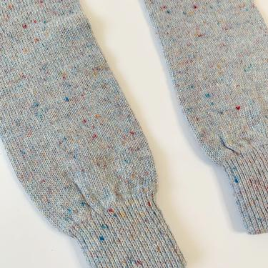 1980's Speckle Blue Leg Warmers