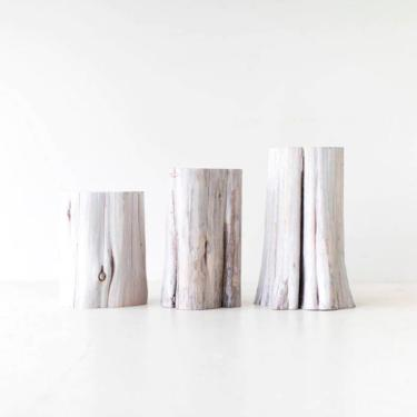 Modern Stump Side Table by BertuHome