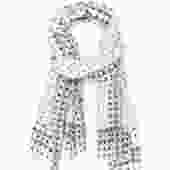Evergreen Dots Cotton Scarf