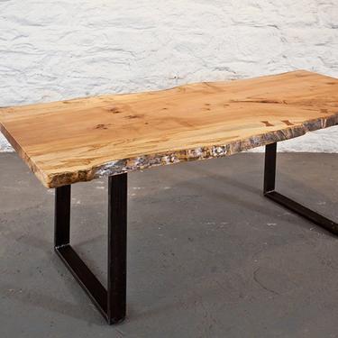 Maple Slab Dining Table