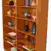 Danish Modern Teak Bookcase by Hundevad