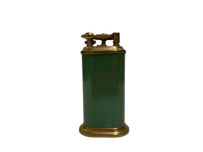 Brass Lift Arm Table Cigarette Lighter by Park Sherman by HarveysonBeverly