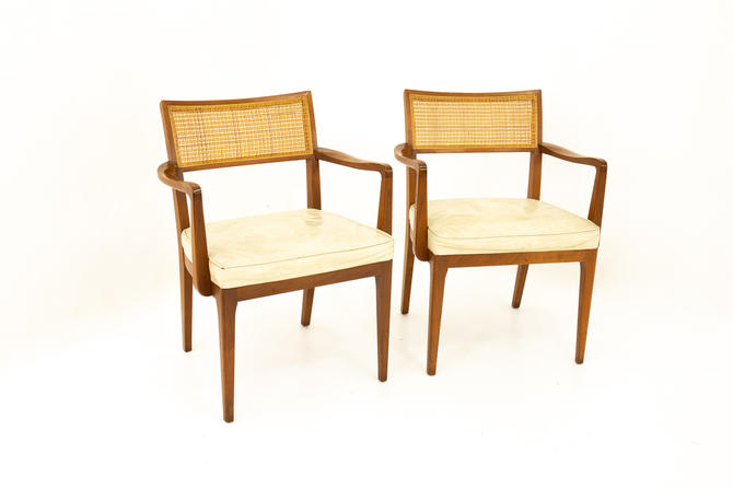Sligh Furniture Mid Century Dining Chairs - Pair - mcm by ModernHill