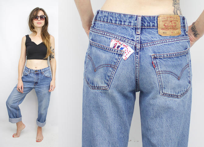 ea106581ac1 Vintage 90's Blue Levi's 503 Jeans / 1990's Relaxed Fit ...