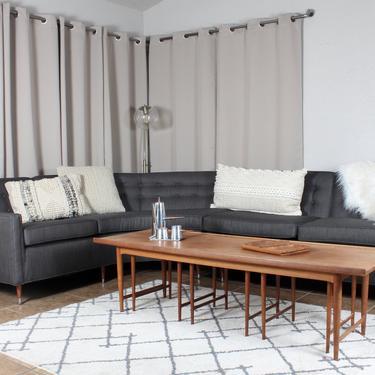 Kroehler Sectional Sofa, 1960, Vintage Furniture, Mid Century, Couch, Restored Furniture, Mid Century Sectional, Sectional Sofa, Vintage by 1882BlueVintage