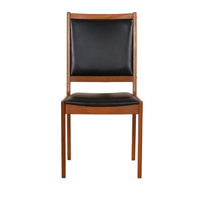 Danish Teak Upholstered Back Chair