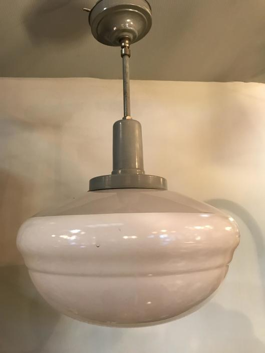 Industrial Schoolhouse Style light