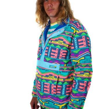 That's Rad Reversible Polar Fleece Chubbies Jacket