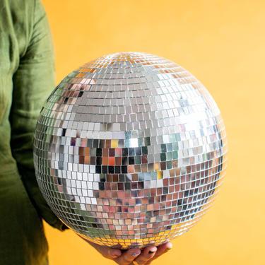 "10"" Disco Ball Mirror Ball || THE MARSHA by LivingColorfullyShop"