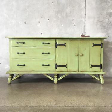 Vintage Green Monterey Buffet - HOLD