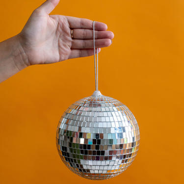 """BACKORDERED Disco Ball Mirror Ball 6"""" THE EBBA 