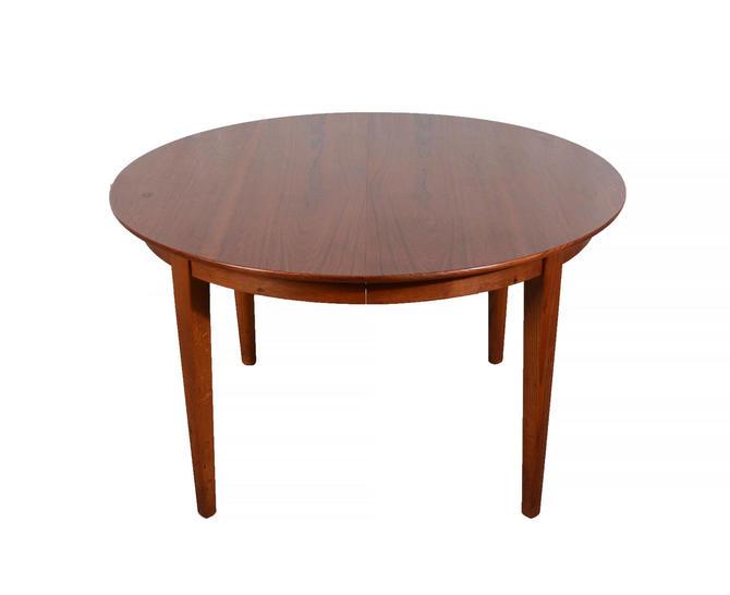 Moreddi Teak Dining Table Round Table Danish Modern Oval Table Skovmand & Andersen by HearthsideHome