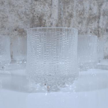 Set of Eight Iittala Ultima Thule Old Fashioned / Lowball Glasses - Designed by Tapio Wirkkala by MostlyMidModern