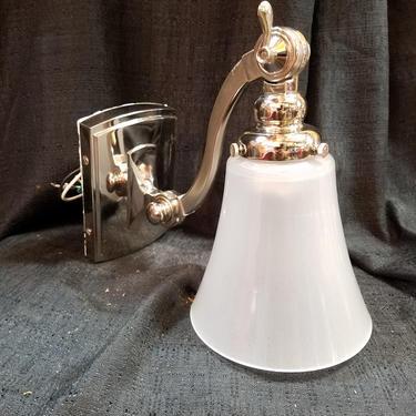 Adjustable Arm Contemporary Sconce Light