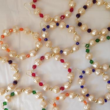 Chunky Popcorn Pearl Earrings by SkiinTones