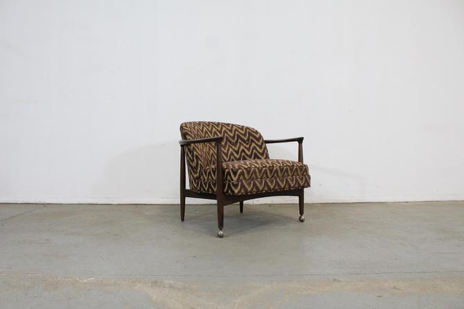 Mid-Century Danish Modern Selig Barrel Back Club Chair by AnnexMarketplace