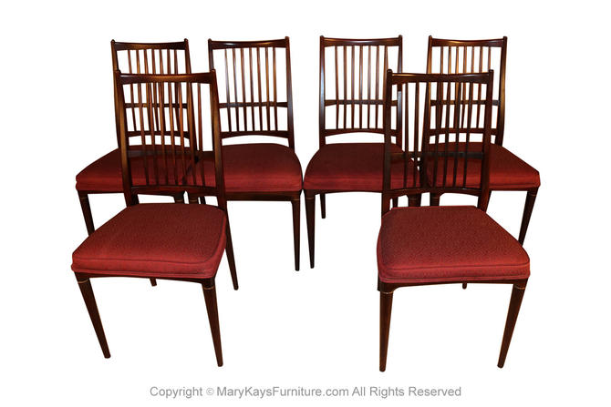 6 Svante Skogh Rosewood Cortina Dining Chairs by Marykaysfurniture