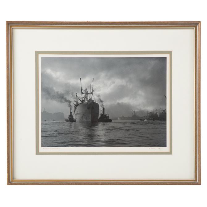 "A. Aubrey Bodine. ""Baltimore Harbor"""