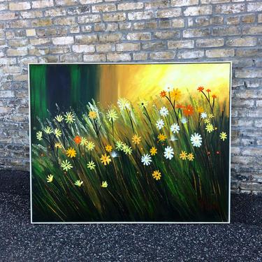 Lee Reynolds Wildflowers Painting