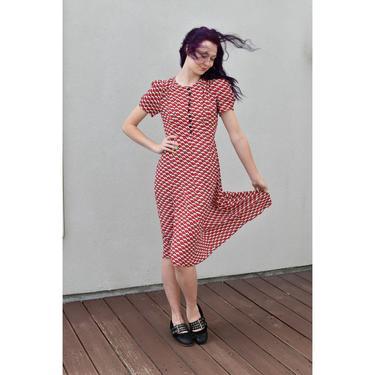 1990's | Vintage Anna Sui | Cherry Dress by LadyofLizard