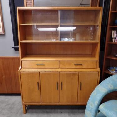 Mid Century Modern solid birch china cabinet from the Modern Mates  collection by Conant Ball. Conant Ball from furniture stores in Washington DC  Baltimore
