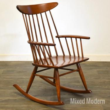 Russel Wright for Conant Ball Rocking Chair by mixedmodern1