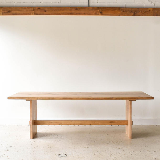 Modern Farmhouse Dining Table | Timber Frame | Reclaimed Wood by wwmake