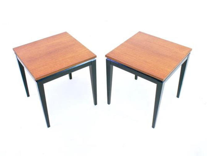 Pair of End Tables/Night Stands by Legate Furniture of Scotland by SputnikFurnitureLLC