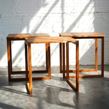 Nesting Cube Side Tables
