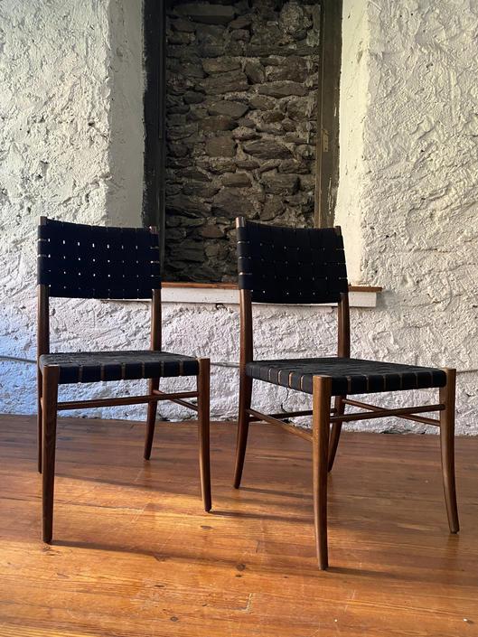 Mid century side chair Italian modern accent chair mid century chair a pair by VintaDelphia