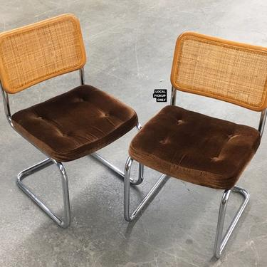 LOCAL PICKUP ONLY ———— Vintage Cesca Chairs by RetrospectVintage215