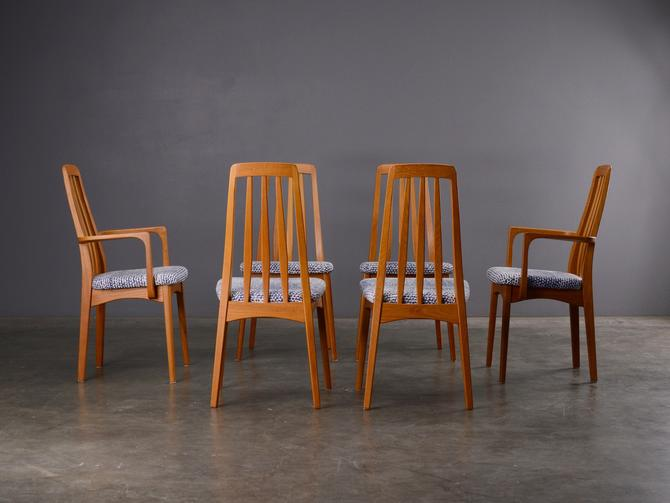 Set of 6 Mid Century Dining Chairs Svegards by MadsenModern