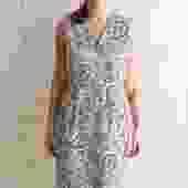 Jil Sander Paisley Print Midi Dress, Size 42